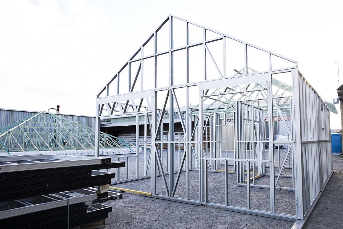 Fantastic Steel House Frames Australia Pty Ltd Pattern - Ideas de ...