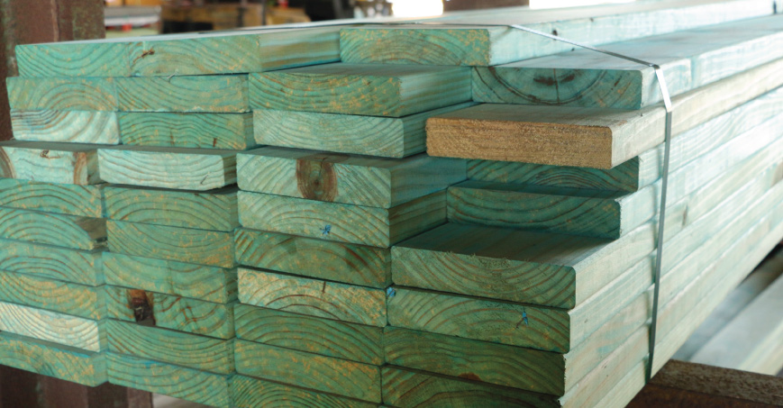 Blue Pine H2 Treated Mgp10 Structural Pine Worldwide