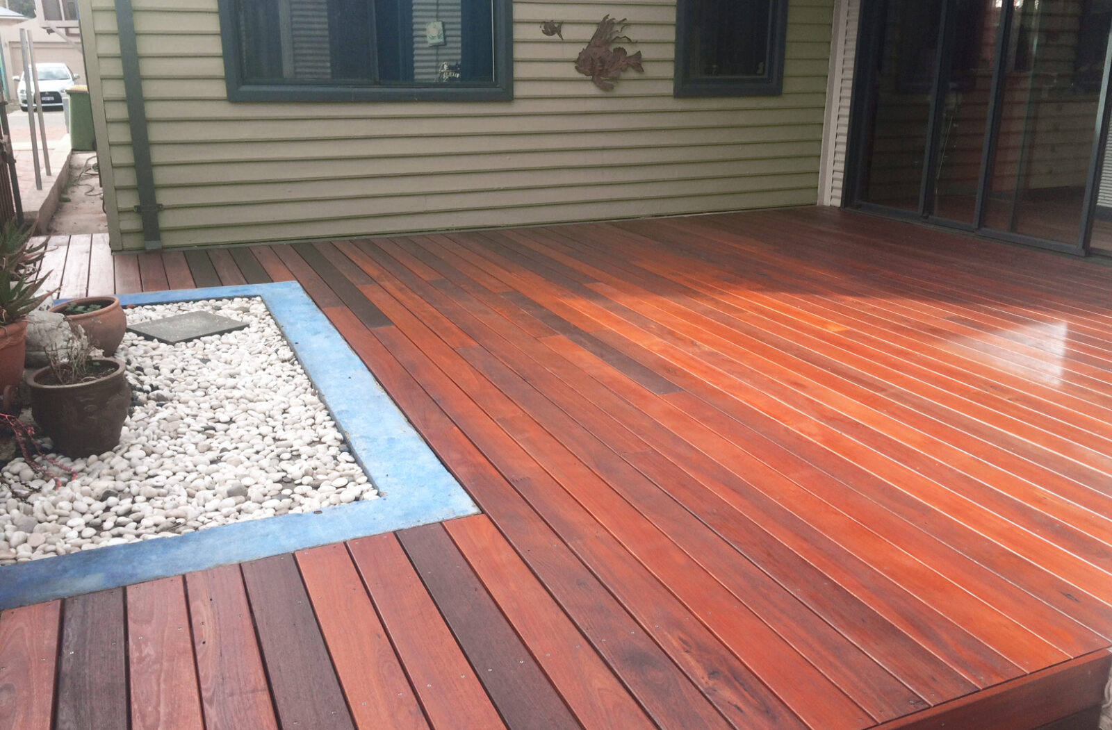 image of jarrah timber decking wwtt