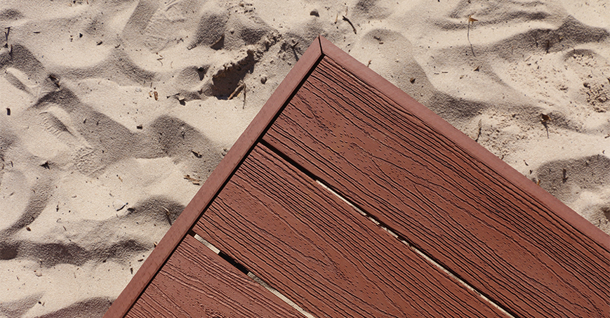 Composite Decking Perth | Easy To Maintain | Woodgrain Textured