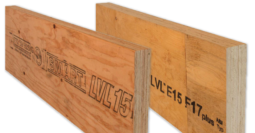 image of tilling lvl beams
